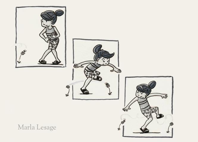 Beatrice B&W spots Marla Lesage