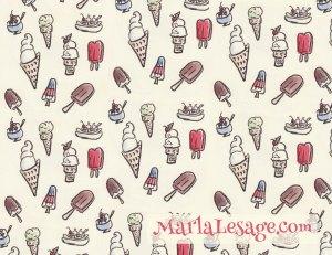 icecream-pattern