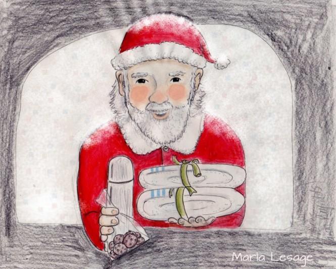 Stranded Santa