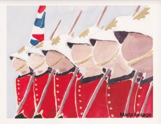 Changing of the Guard, for sale at Isaac's Way, Fredericton NB