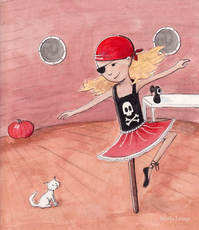 Pirate ballerina final for blog
