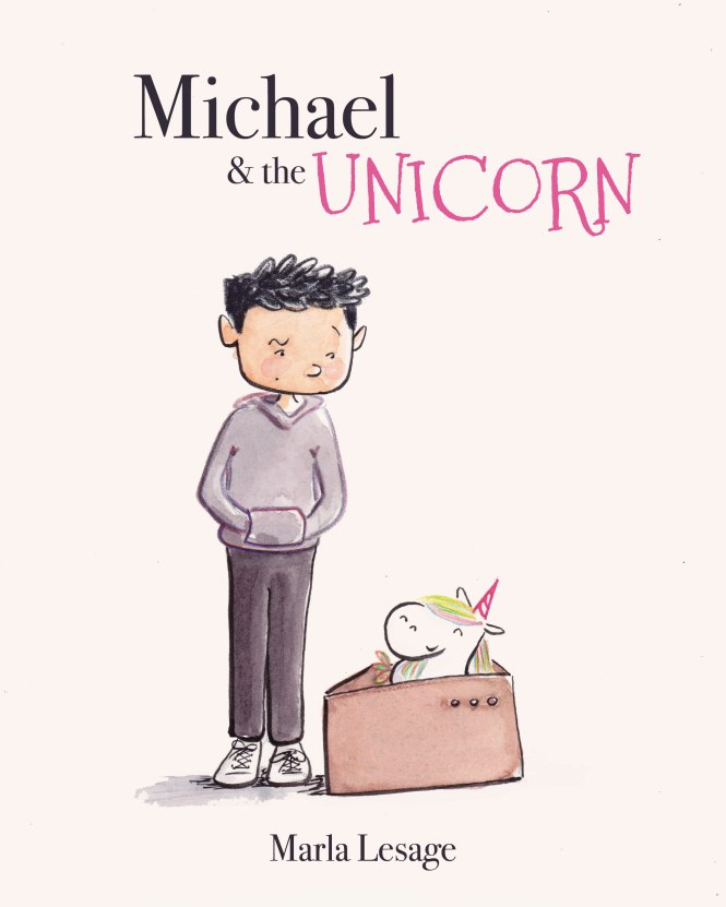 michael and the unicorn mock cover