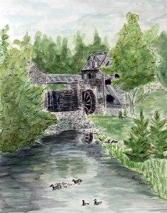 Lesage Paint the Past Sawmill